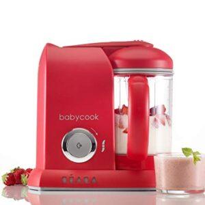 Béaba Babycook Solo - Robot de cocina, color rojo