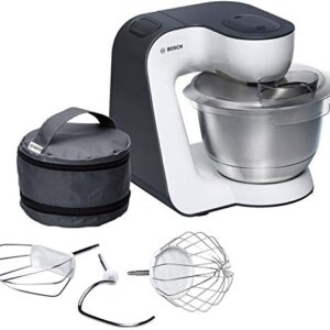 Bosch MUM54A00 900W 3.9L Negro, Plata, Color blanco - Robot de cocina ...