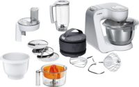 Bosch MUM58243 - Robot de cocina (1000 W, acero inoxidable) + accesori...