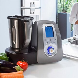 Cecomix C04010 Robot de cocina multifunción, 1500 W, 3.3 litros, PU Ac...