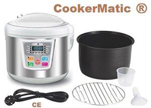 Cookermatic - Robot de cocina, capacidad 5 litros