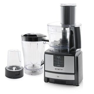 Emerio FP-109503 robot de cocina, 600 W, 1.5 litros, 0 Decibelios, De ...