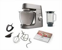 Kenwood Titanium Chef XL System Pro Robot de cocina, 1700 W, 5 kg, Pla...