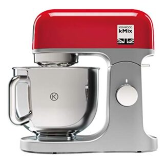 Kenwood kMix KMX750RD - Robot de Cocina, 1000 W, Bol 5 L con Asa, Incl...