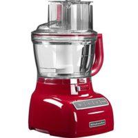 KitchenAid 5KFP1335 - Robot de cocina (Rojo, 7.8 kg, 280 mm, 260 mm, 5...