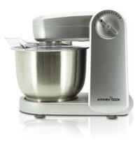 KitchenCook Mixmaster Silver V1 - Robot de cocina multifunción, 10 vel...
