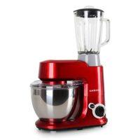 Klarstein Carina Rossa Set Robot de cocina multifunción con batidora d...