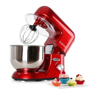 Klarstein TK1 Bella Rossa - Robot de Cocina , Batidora , Amasadora , 1...