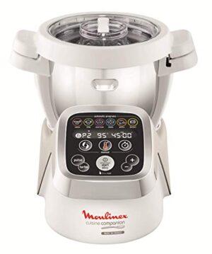 Moulinex HF802AA1 Robot cocina con 6 programas automáticos, 4,5 L de c...