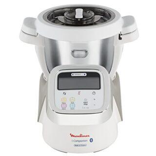 Moulinex i-Companion HF900110 - Robot de cocina Bluetooth 13 programas...
