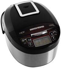 Multi-cocina REDMOND RMK-M451E (Negro) con sartén, Robot de cocina mul...