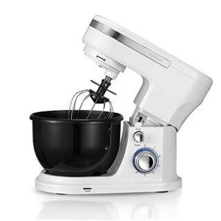 PRIXTON - Robot Cocina/Batidora Amasadora de Reposteria con Potente Mo...