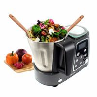 PRIXTON - Robot de Cocina Multifunción Programable: Mezclar, Batir, Pi...