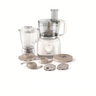 Philips HR7628/01 Daily - Robot de cocina, 650 W, color beige + bol 2,...