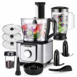 Procesador de Alimentos 1100W, AEVOBAS (FIMEI) Robot de cocina (diseño...