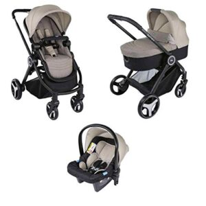 Chicco Trio Best Friends 00079146140000 Cochecito, 0 Meses +, Beige (L...