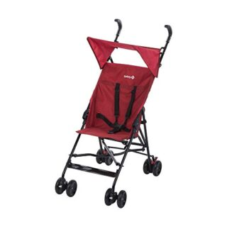 Safety 1st PEPS+CAPOTA 'Ribbon Red Chic' - Silla de paseo, color rojo