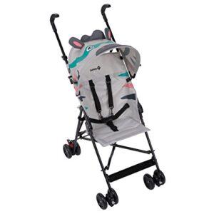 Safety First CRAZY PEPS 'Zebra' - Silla de paseo, color gris