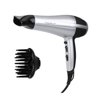 Aigostar Daphne 32GPO - Secador profesional de pelo en color plateado ...