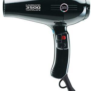 Gamma Piu 3500 Power - Secador de pelo, color negro