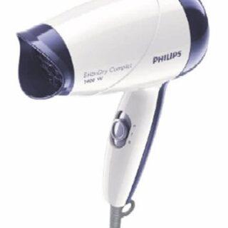 Philips HP8103/00/WH/VT Secador de Pelo HP8103/00, 1400W, 2 Vel, Mater...