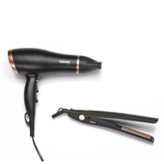 Tristar HD-2366 Secador de pelo y Plancha Alisadora: Secador de pelo c...