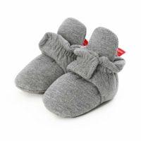 Botas de Niño Calcetín Invierno Soft Sole Crib Raya de Caliente Boots ...