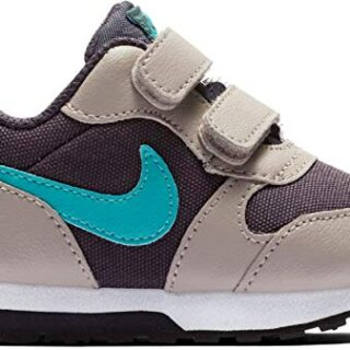 Nike MD Runner 2 (TDV), Zapatillas para Bebés, Gris (Gridiron/Teal Neb...