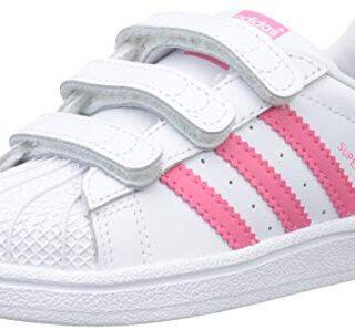 Adidas Superstar CF I, Zapatillas de Gimnasia Unisex Niños, Blanco (FT...