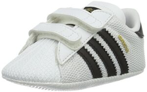 Adidas Superstar Crib, Zapatillas Unisex Bebé, Multicolor (Blanco/Negr...