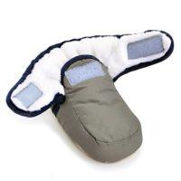 Bebé Niños Niñas Invierno Cálido Botas Zapatos de Cuna gris gris Talla...