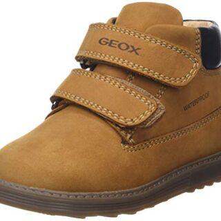Geox B Hynde Boy WPF A, Botas para Bebés, Beige (Biscuit C5046), 23 EU
