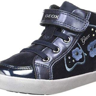 Geox B Kilwi Girl A, Zapatillas para Bebés, Azul (Dk Navy C4021), 26 E...