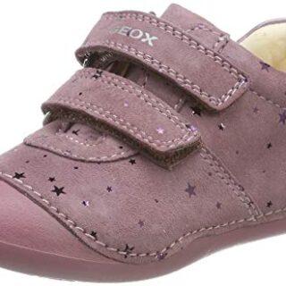 Geox B TUTIM B, Zapatillas para Bebés, Rosa (Dk Pink C8006), 19 EU