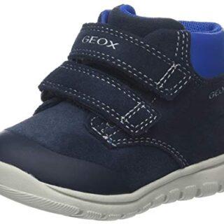 Geox B Xunday Boy A, Zapatillas para Bebés, Azul (Navy C4002), 23 EU