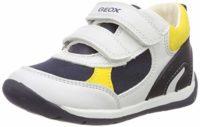 Geox Baby Each Boy, Zapatillas para Bebés, Blanco (White/Navy C0899), ...