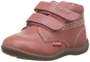 Kickers Bikro, Botas Unisex bebé, Rosa (Rose Clair 131), 18 EU