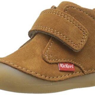 Kickers Sabio, Botas Unisex bebé, Marrón (Camel 114), 23 EU