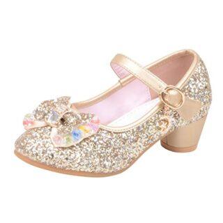Mitlfuny Zapatos de Tango Latino para Niños Vestir Fiesta Arco Princes...