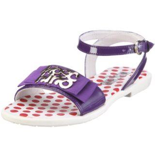 Moschino 24960 0501205 - Sandalias de charol para bebé, color morado, ...