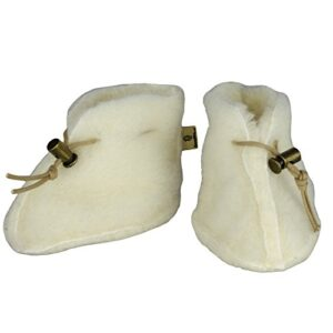 SamWo–Zapatos para bebé 100% naturales de lana de oveja, con cierre ...