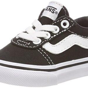 Vans Ward Slip-on, Zapatillas Unisex Niños, Negro ((Canvas) Black/Whit...