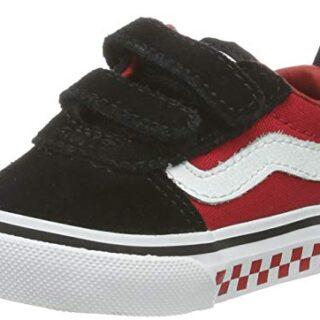 Vans Ward V-Velcro Suede, Zapatillas Unisex bebé, Multicolor ((Checker...