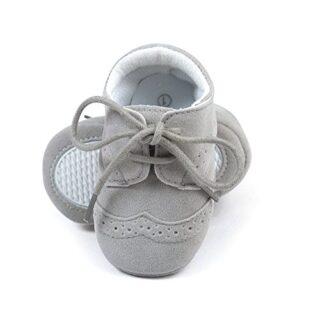 Zapatos de los niños del bebé infantil Zapatillas de deporte de la PU ...