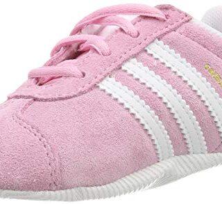 adidas Gazelle Crib, Zapatillas Unisex bebé, Rosa (True Pink/Footwear ...