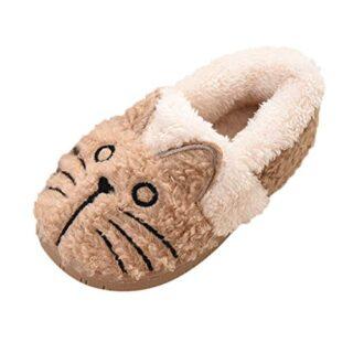 iubebe Zapatillas de casa para niños pequeños Bebés Niñas Niños Dibujo...