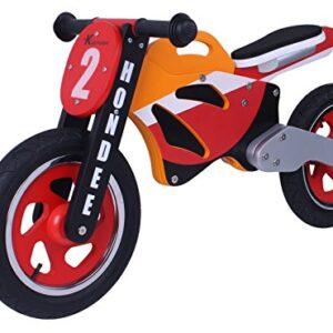 Bicicleta de equilibrio de bicicleta de madera Hondee