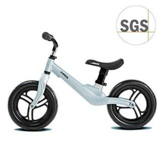 """COEWSKE Bicicleta sin pedales para niños 12 """"para 2 3 4 años Aleación ..."""