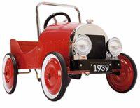 CAPRILO Juguete decorativo para niños Metal Car Epoch rojo. Coch ...