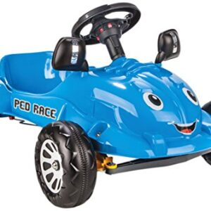 Coches de pedales Jamara- Ped Race, color azul (460289)